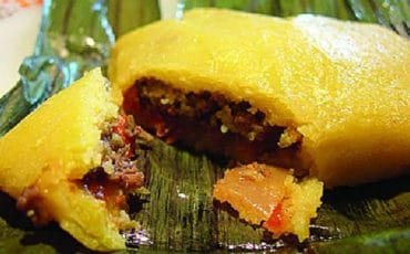 Christmas Pastelles and Trinidad Black Cake
